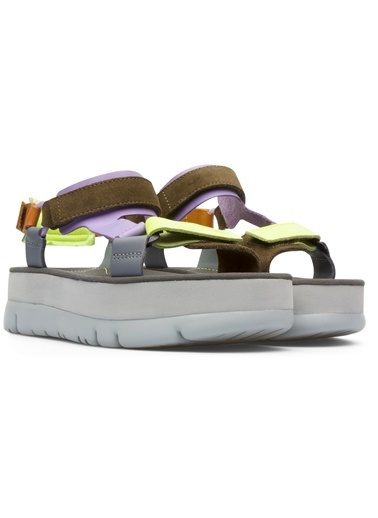 Camper Oruga Up Sandalet Haki
